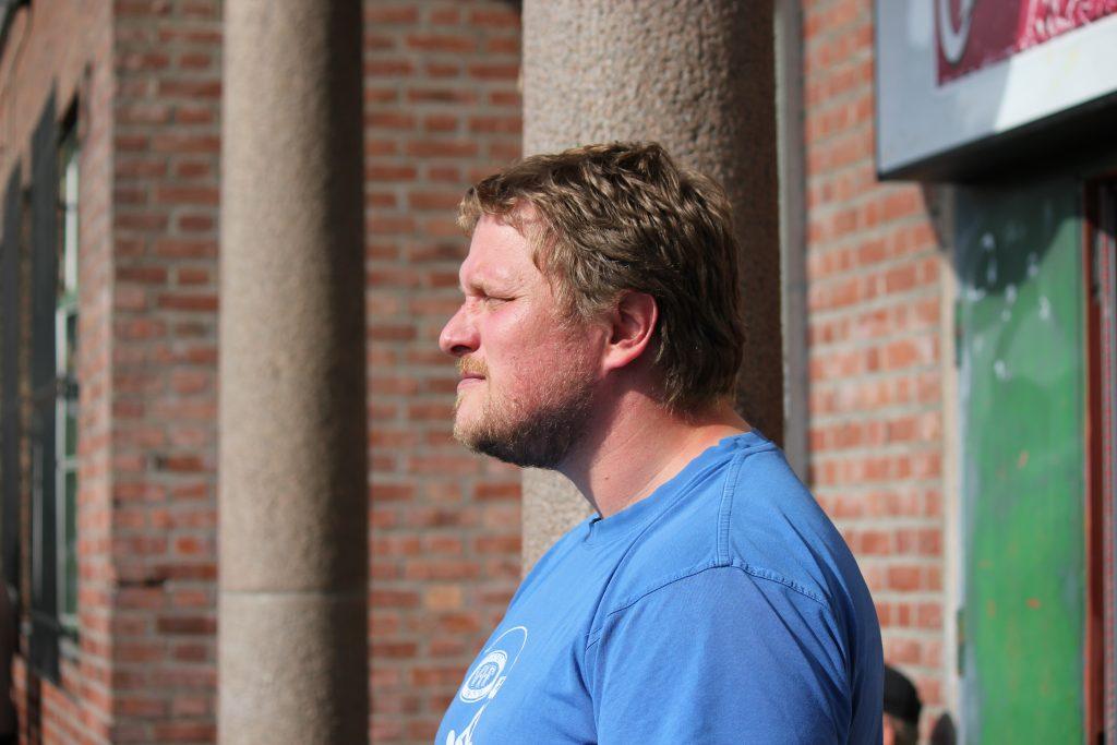 Simen Kristensen, leder Vålerenga Trolls som arrangere NM-finalene U17