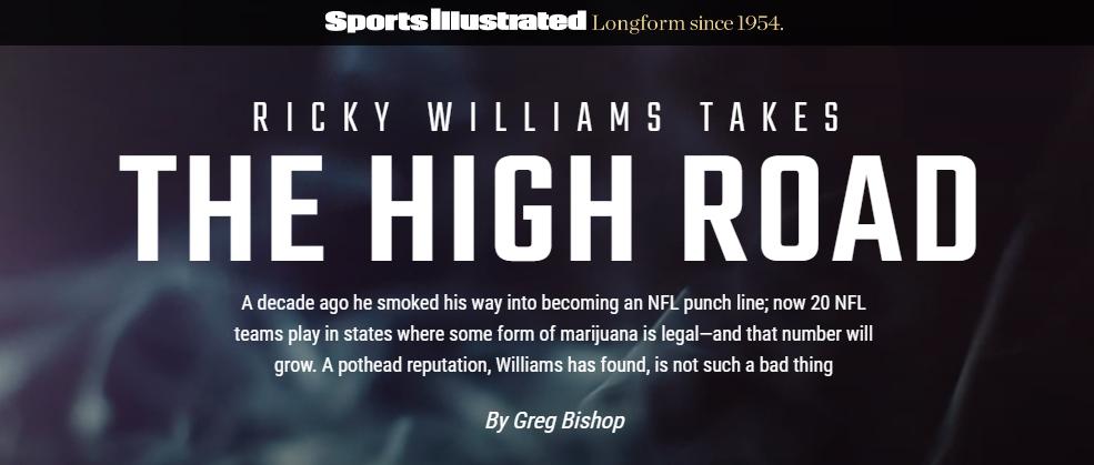 SI Longform - Ricky Williams High Road