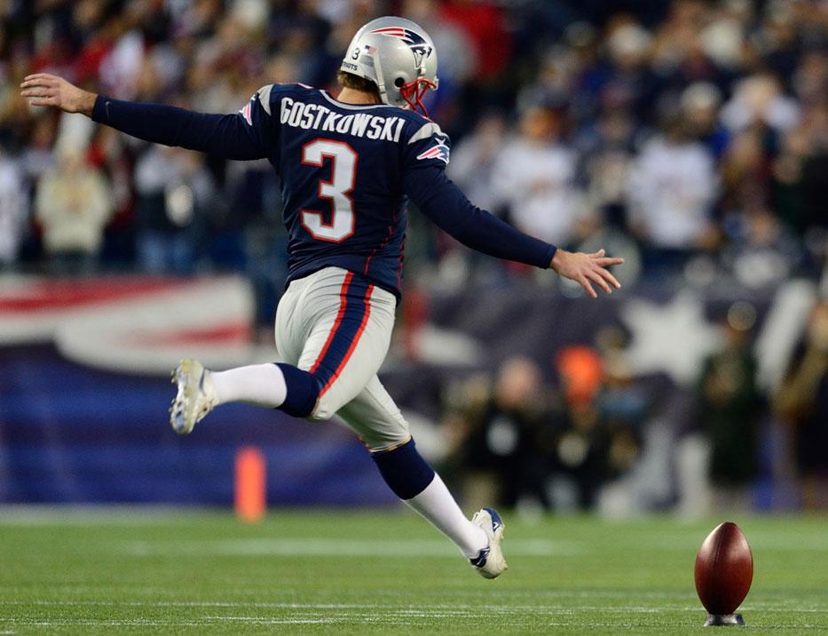 Patriots - Stephen Gostkowski