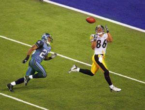 Wards touchdown i Super Bowl XL