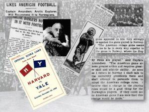 Roald Amundsen vil innføre amerikansk fotball