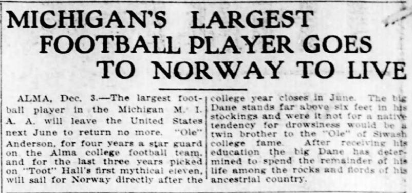 michigans-storste-spiller-til-norge-lansing-state-journal-19131203