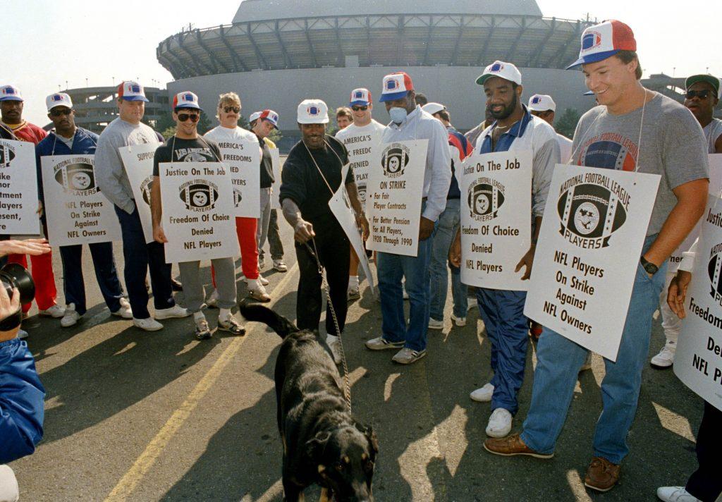 Streik og streikebrytere