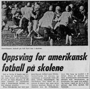 Første norske seriespill