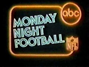 Monday Night Football for første gang