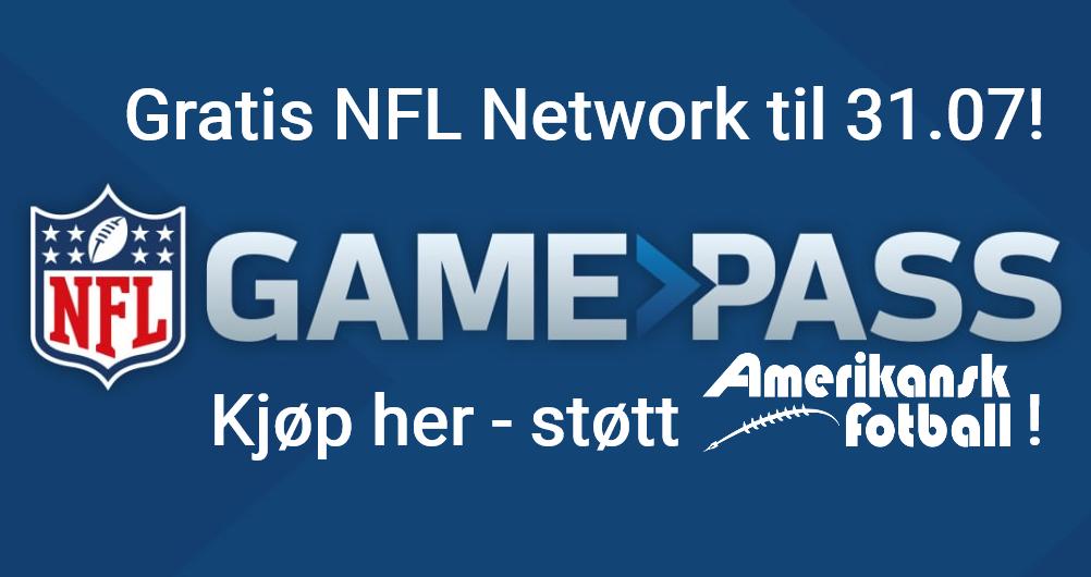 Støtt oss - kjøp NFL Gamepass her!